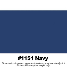"Load image into Gallery viewer, #1151 Navy Broadcloth Full Bolt (45"" x 30 Meters)"