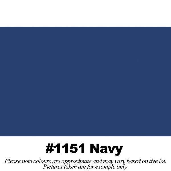 #1151 Navy Broadcloth Full Bolt (45