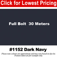 "Load image into Gallery viewer, #1152 Dark Navy Broadcloth Full Bolt (45"" x 30 Meters)"