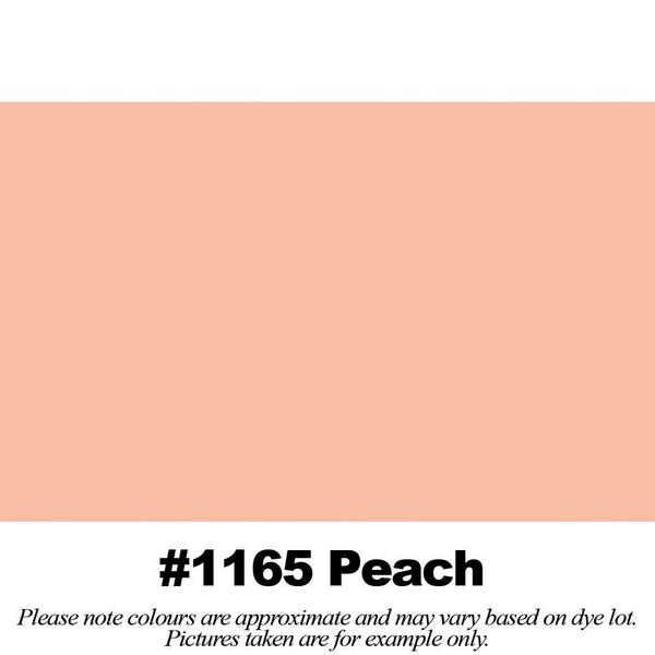 #1165 Peach Broadcloth Full Bolt (45