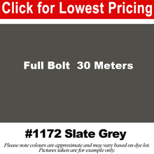 "Load image into Gallery viewer, #1172 Slate Grey Broadcloth Full Bolt (45"" x 30 Meters)"