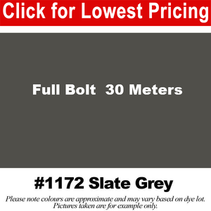 "#1172 Slate Grey Broadcloth Full Bolt (45"" x 30 Meters)"