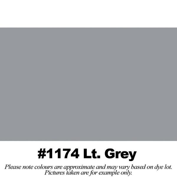#1174 Light Grey Broadcloth Full Bolt  (45