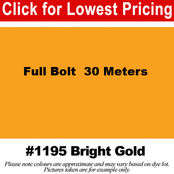 #1195 Bright Gold Broadcloth Full Bolt (45