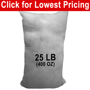 25 lb Bag - Polyester Stuffing (Bulk)