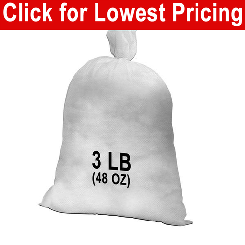 3 lb Bag - Polyester Stuffing (Bulk)