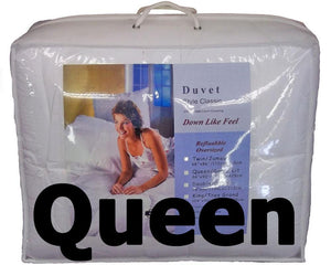 "Synthetic Down Like Duvet - Queen Size (86"" x 90"")"