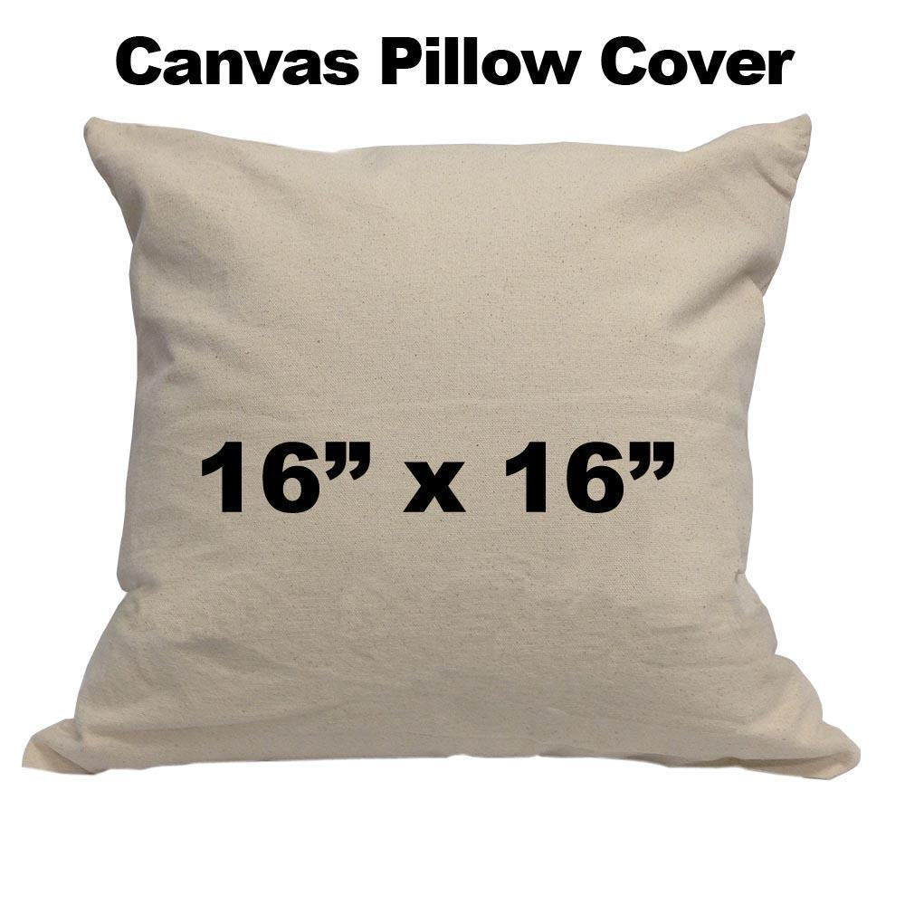 Canvas Pillow cover 16
