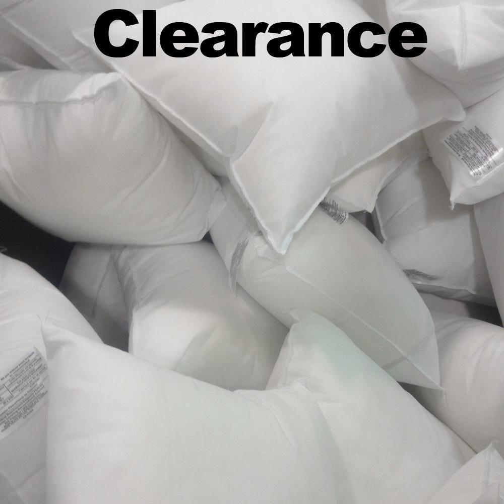 Clearance pillow forms