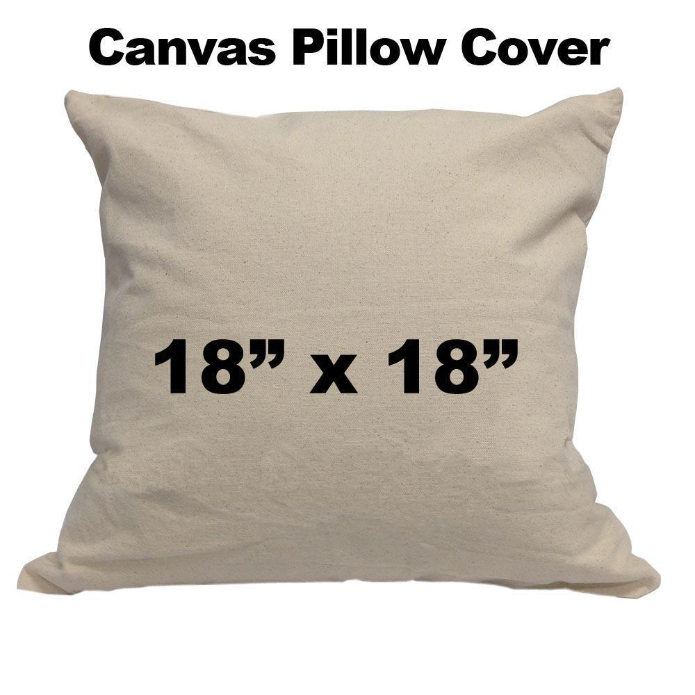 Canvas Pillow cover 18