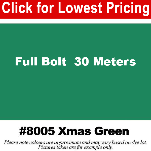 #8005 Xmas Green Broadcloth Full Bolt (45