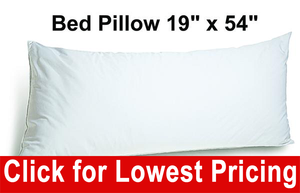 "Body Pillow 19"" x 54"""