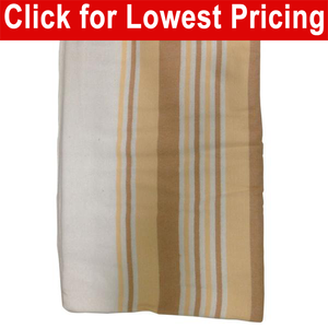 Flannel Blanket (Gold Colors)