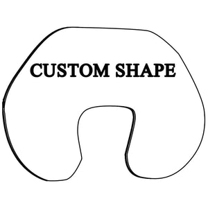 Maternity, Baby & Nursing Pillow insert - Custom Shape