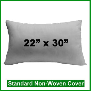 "Pillow Form 22"" x 30"" (Polyester Fill) rectangular"