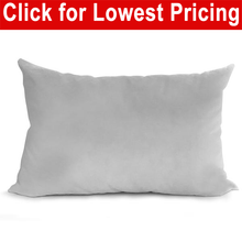 "Load image into Gallery viewer, Pillow Form 12"" x 20"" (Synthetic Down Alternative)"