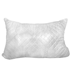 "Quilted Bed Pillow Queen size 20"" x 30"""