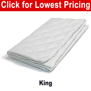 "Quilted Pillow Protector 20"" x 36"" (King Size)"