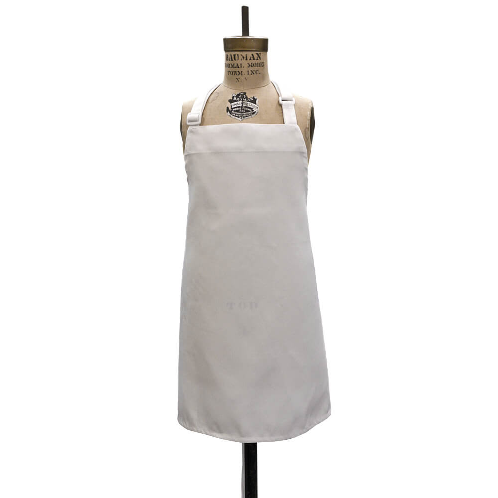 Apron - White - Polyester (Child Size) (Dozen)