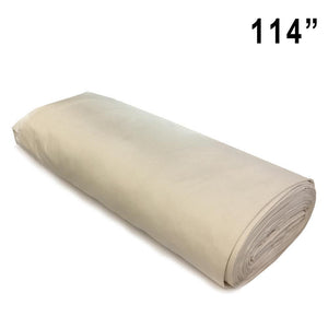 "20 mtr 114"" Unbleached backdrop fabric offer 693"