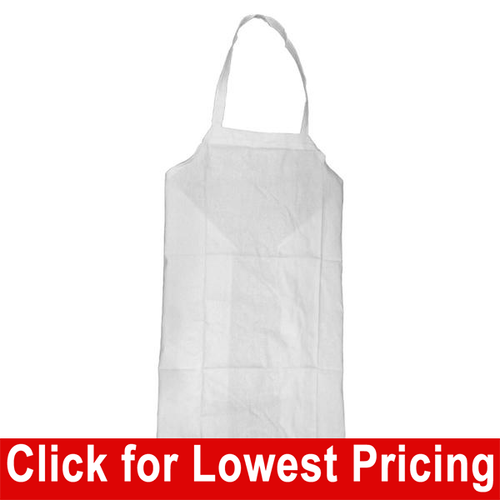 White Chef Apron (Cotton  - Singles