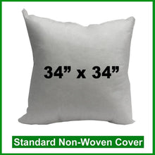 "Load image into Gallery viewer, Pillow Form 34"" x 34"" (Polyester Fill)"