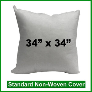 "Pillow Form 34"" x 34"" (Polyester Fill)"