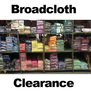 Broadcloth Clearance