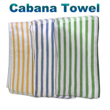 "Load image into Gallery viewer, Bath Sheets Cabana towel 30"" x 70"""