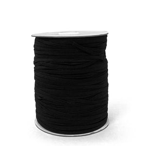 "1/8"" Black Elastic Roll (320 Meters)"