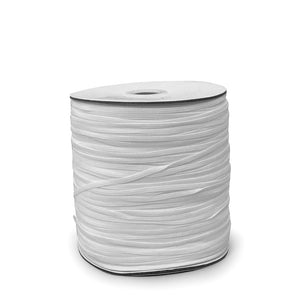 "1/8"" White Elastic Roll (320 Meters)"
