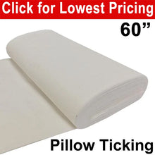 "Load image into Gallery viewer, Pillow Ticking 60"" - Full Roll (25 Meters)"
