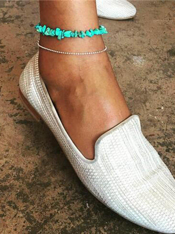 Fashion Personality Popular Turquoise Female Anklets-Accessories-fastchics-As Picture-One-size-fastchics