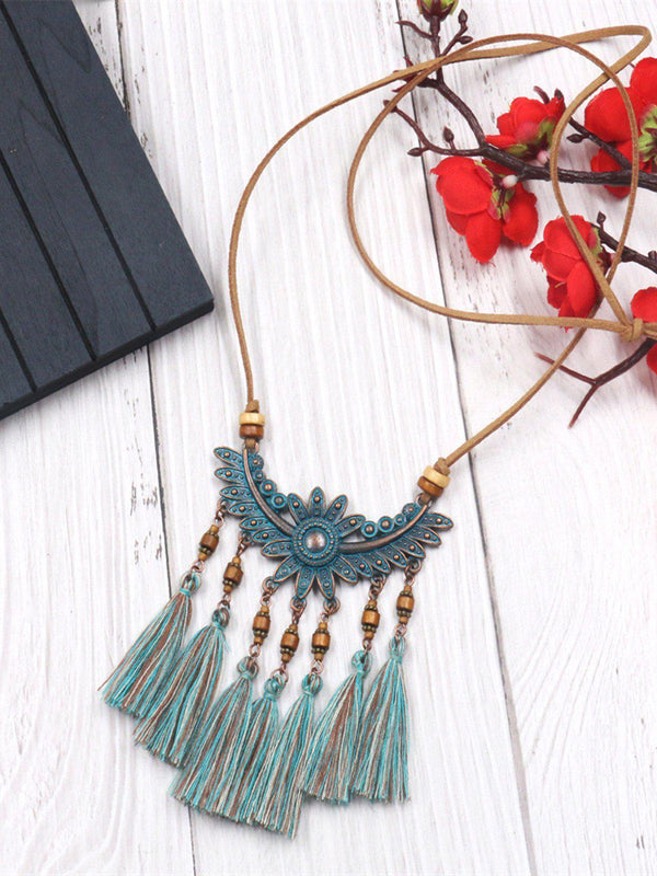 Alloy Necklaces-Accessories-fastchics-Green-fastchics