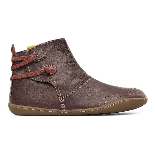 Women Casual Soild Daily Boots-Shoes-fastchics-Coffee-35-fastchics