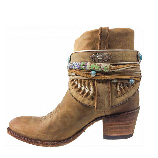 Daily Chunky Heel Boots-Shoes-fastchics-Khaki-35-fastchics