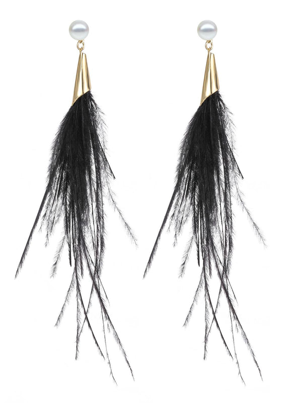 Alloy Earrings-Accessories-fastchics-Black-fastchics