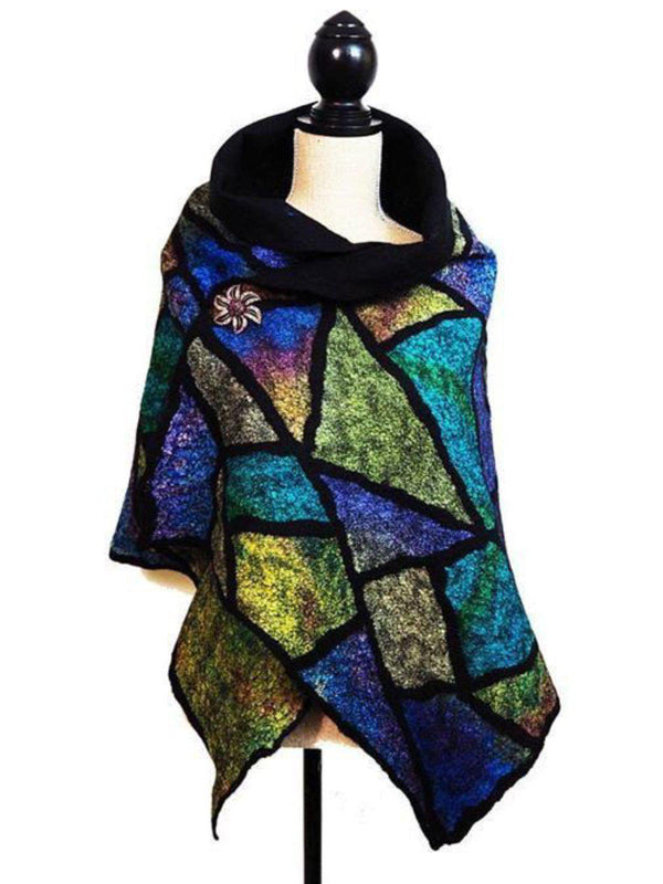 Women Boho Holiday Fall/Winter Polyester Scarf-Accessories-fastchics-blue-One-size-fastchics