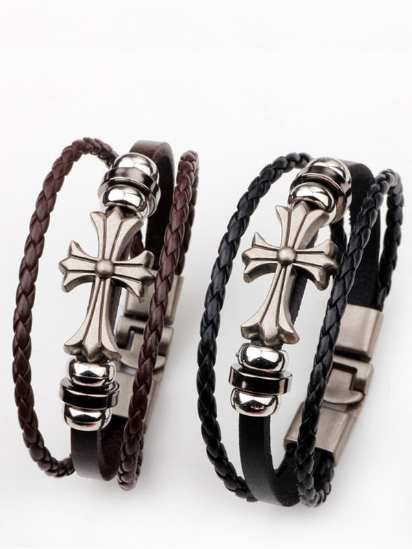 Casual Bracelets-Accessories-fastchics-Brown-fastchics