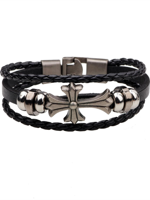 Casual Bracelets-Accessories-fastchics-Black-fastchics