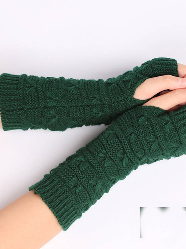 Women Casual Knitted Gloves & Mittens
