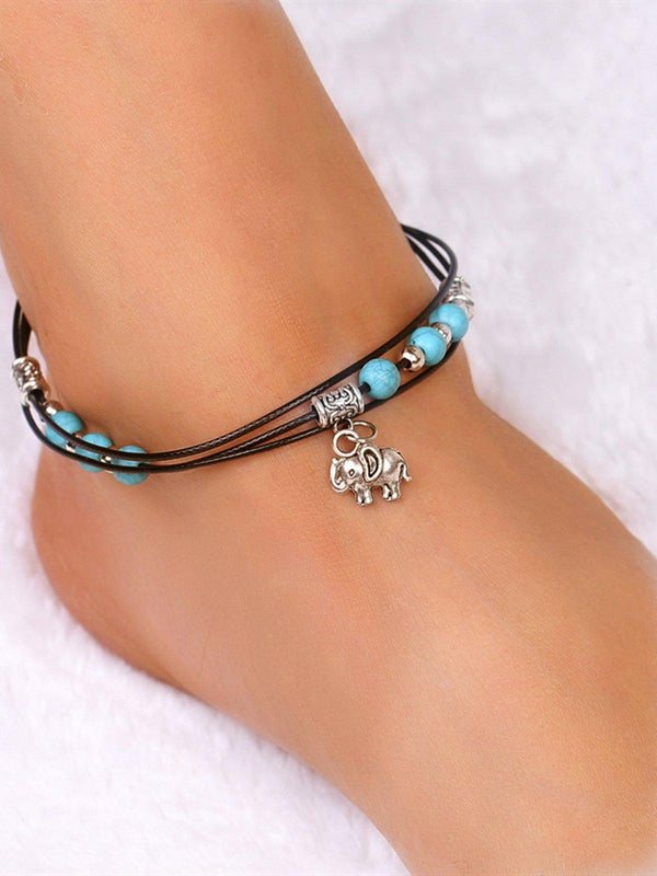 As Picture Alloy Vintage Anklets-Accessories-fastchics-As Picture-fastchics