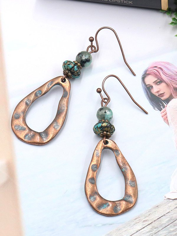Multicolor Alloy Vintage Earrings-Accessories-fastchics-Multicolor-fastchics