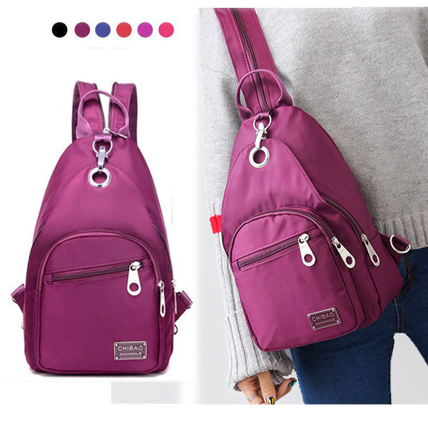 Women Waterproof Oxford Upgrade High-End Daily Crossbody Backpack