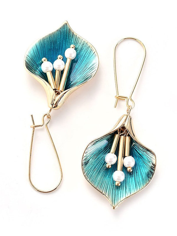 Alloy Earrings-Accessories-fastchics-Cyan-fastchics