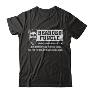 Bearded Funcle Funny Uncle Definition Beard