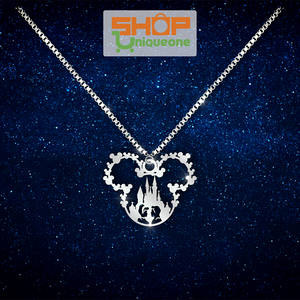 Cinderella Castle Necklace