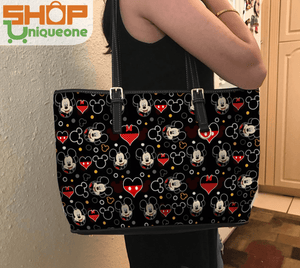 Valentine Pattern Tote Bag