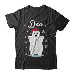Dad Bear Christmas Santa Pajamas