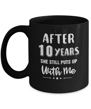 10Th Wedding Anniversary Funny Husband Gift Mug